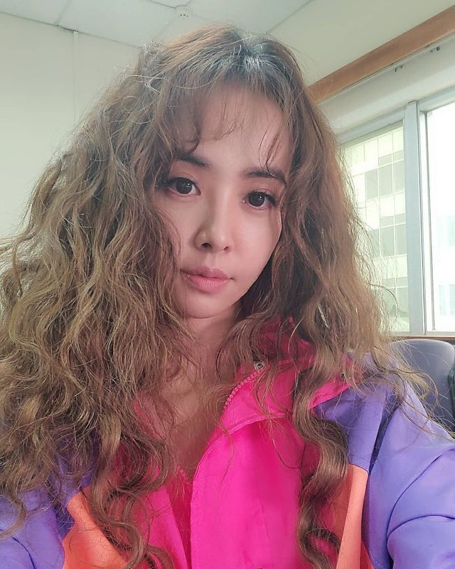 蔡依林捲髮新造型。(取材自Instagram)