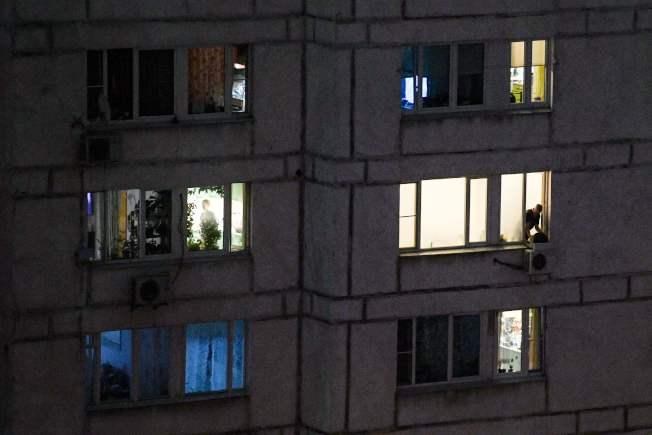 莫斯科民眾居家避疫中。(Getty Images)