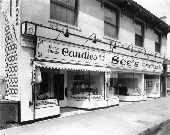 36 1921年開店的See's巧克力的第一家分店。(Getty Images)