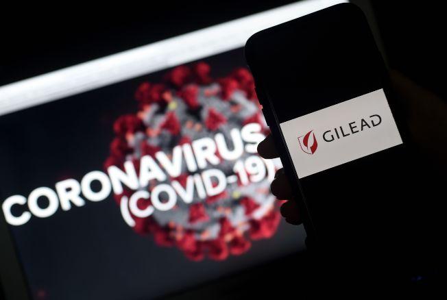 疑似治療新冠肺有效的美國公司GILEAD藥品「瑞德西弗」獲准恢復產製,由醫生處方開藥。(Getty Images)