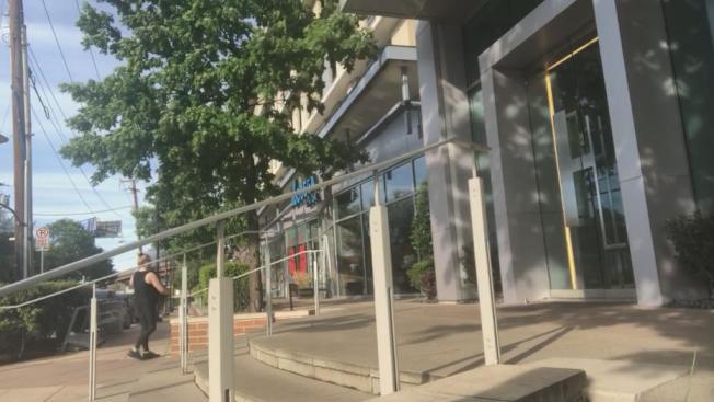 AMLI設計區是高樓公寓。(FOX4電視台)