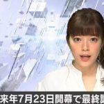 東京奧運開幕 確定延至明年7月23日