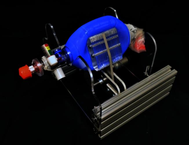 MIT研發緊急呼吸器,希望能解呼吸器嚴重缺乏的疫情之災。(取自MIT新聞辦公室網站)