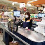 H Mart安裝防護罩 減低員工與顧客接觸