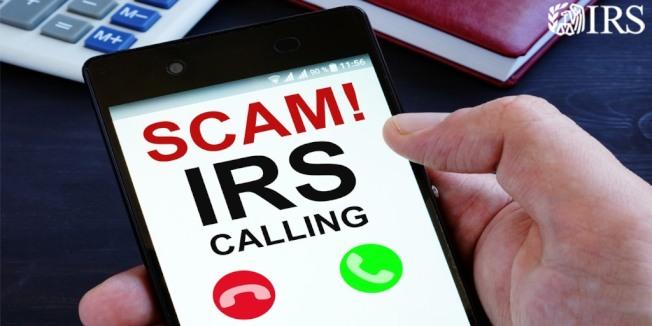 國稅局不會打電話或傳簡訊確認支票給付人的真實身份。(國稅局臉書)