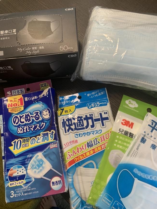 台灣目前口罩每日產能高達1200萬片,台灣官方30日宣布,4月9日起開放台灣寄送口罩給海外二親等內的親人,每兩個月可寄30片。(記者江碩涵/攝影)