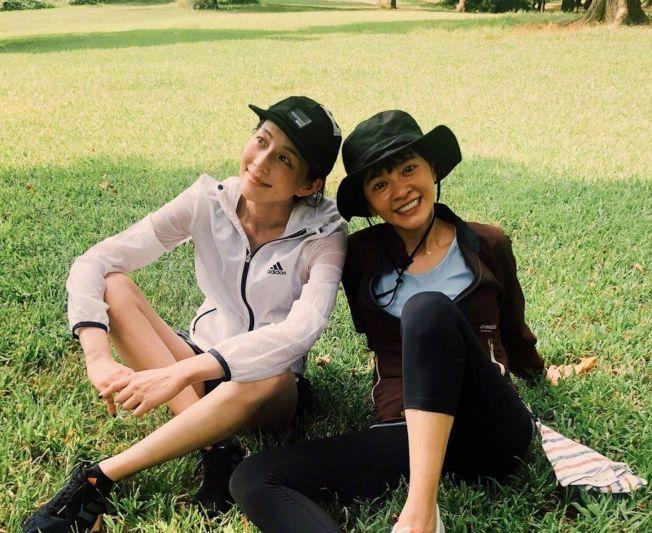 陳意涵(右)和張鈞甯(左)兩人被爆鬧翻。 (取材自微博)