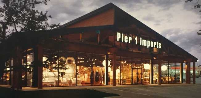 居家裝潢零售店「第一碼頭舶貨商」宣布裁員65%。(Pier 1 Imports 官網)