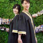 吳尊陪妻重拍畢業照 快40歲一樣嫩如大學生
