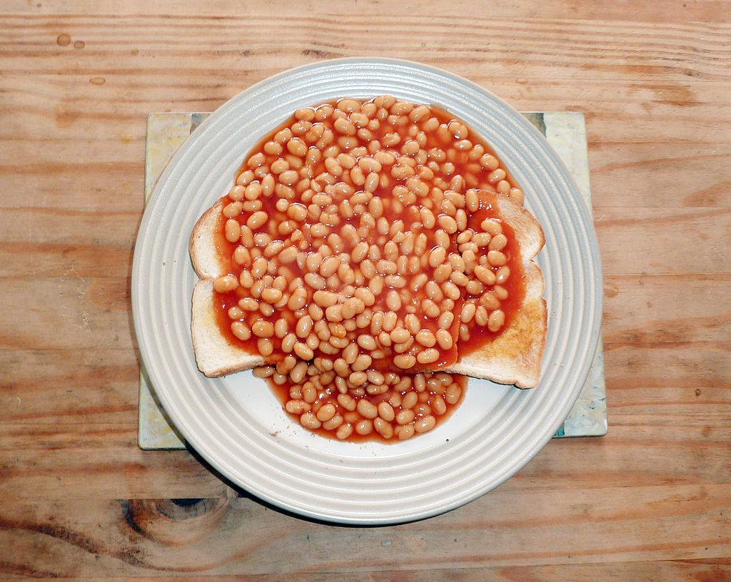 英式焗豆。(取材自維基百科)