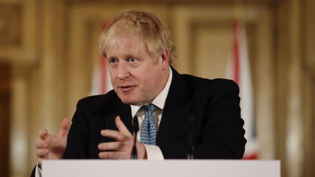 英國首相強生染上新冠肺炎,傳出已住進加護病房。(Getty Image)