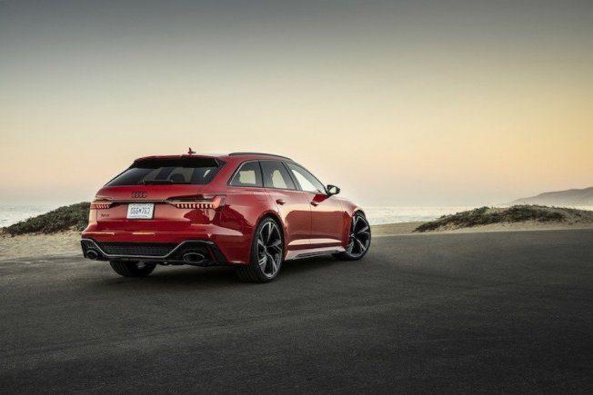 新世代Audi RS6 Avant终于来到美国市场! 25周年纪念版限量发行