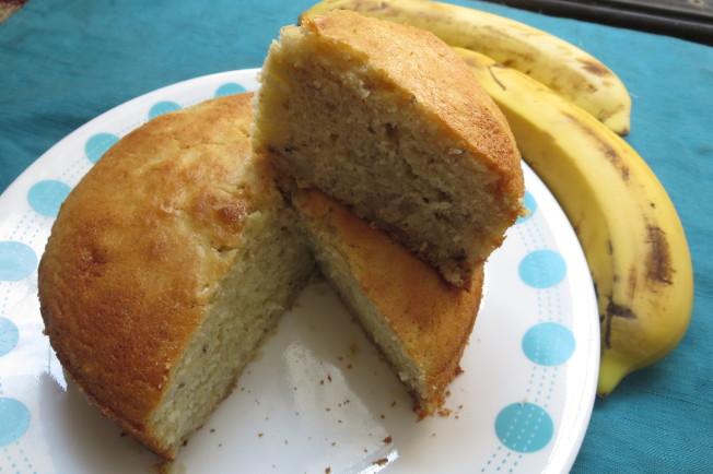 重奶油香蕉蛋糕