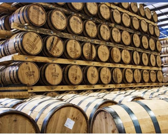 南方蒸餾公司宣佈將把重點從生產威士忌,轉向生產消毒手工皂和洗手液。(取自公司網站)