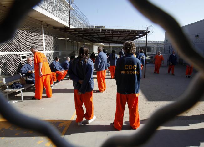 加州將提前釋放部分非暴力犯。美聯社
