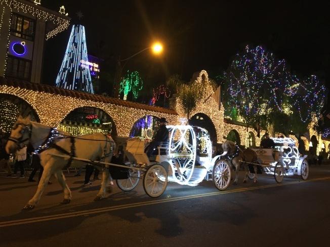 美侖美煥的聖誕燈串,在美國擁有龐大的商機。(本報資料照)