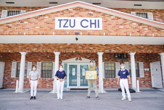 迈阿密慈济 募资买1000口罩捐医院