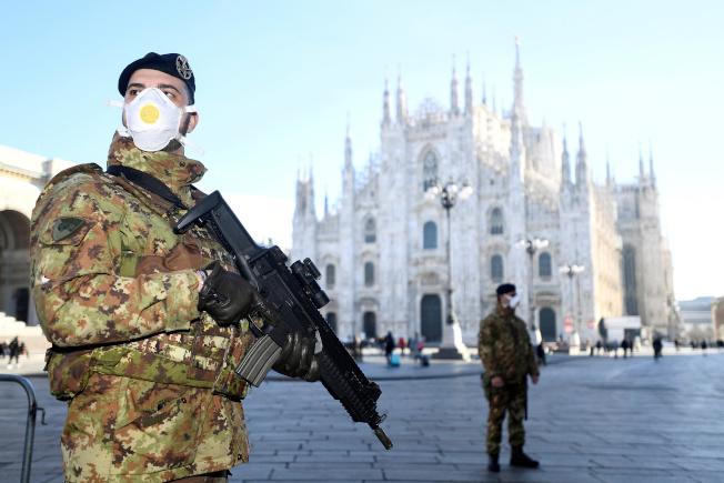 義大利延長全國封城時間至本月13日。(路透)