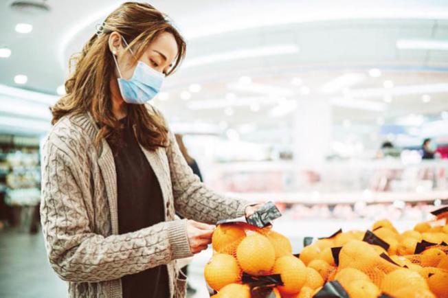 研究報告表示,佩戴口罩有一定的保護作用。(Getty Images)