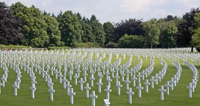 示意圖,突圍美國墓園。(Pexels)