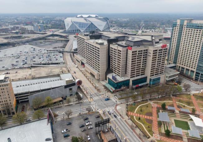 喬州旅館行業受重創,比911事件和2008年金融危機的衝擊更深。(AJC)
