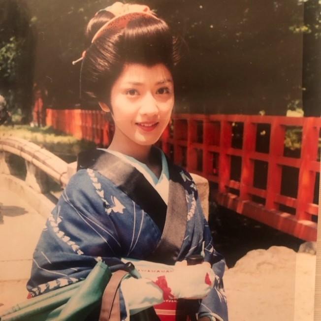 台灣媳婦詹千香16歲就在日本投入演藝事業。(詹千香提供)