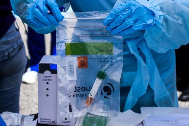 新冠病毒有許多隱性感染者,感染後不會出現任何症狀,但具有傳染能力。(Getty Images)