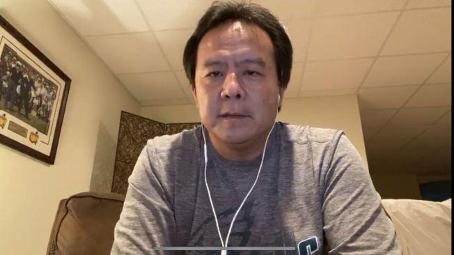 陳正欣3日分享他在地下室染疫到康復的故事。(陳正欣提供)