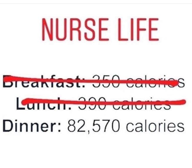 醫療人員被院方要求刪除其在社交媒體發布有關工作情況的帖子,反讓幽默梗圖爆紅。(取自Pround Nurse Life Instagram)