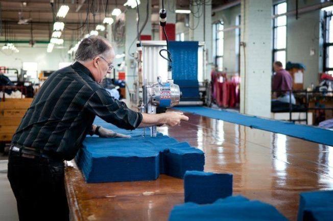 加拿大老牌卫生裤制衣厂  召回员工生产防护衣
