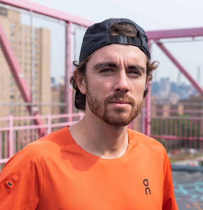 長跑好手季爾莫用長跑方式為紐約籌款。(Instagram)