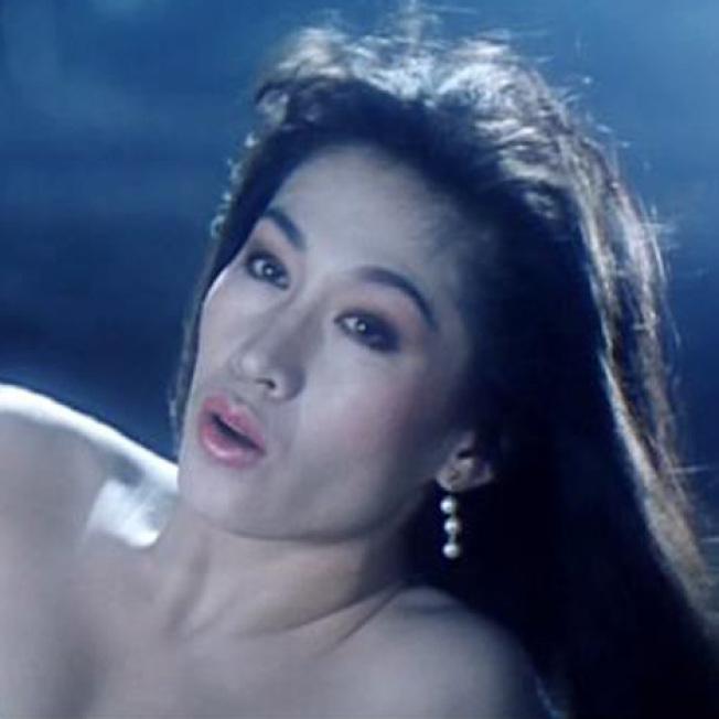 王玉環以往常在香港殭屍片中扮演艷麗女鬼。(取材自HKMDB)
