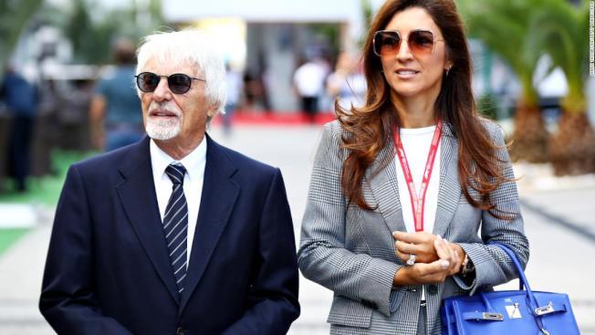 F1前行政總裁Bernie Ecclestone10月將年屆90,同時將四度再為人父,其44歲的第三任妻子Fabiana Flosi預計7月替他誕下第一個兒子。(取材自worldnewsplatform)