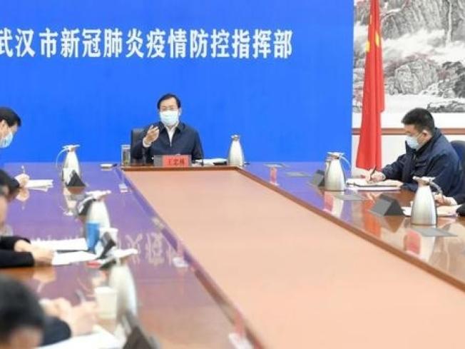 武漢市委書記王忠林強調,要確保疫情不逆轉。香港電台