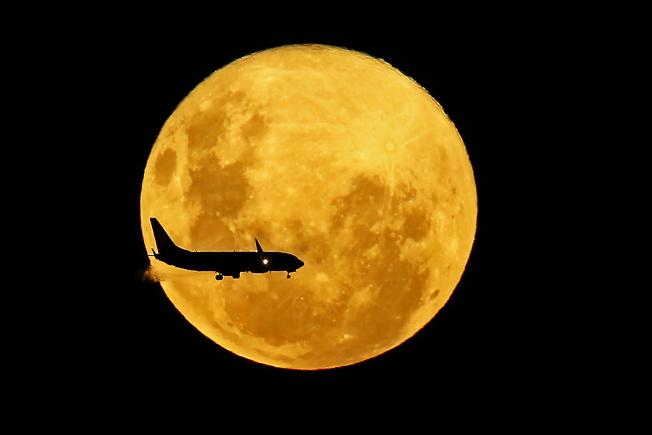 7日晚上將出現今年最大和最亮的月亮。(Getty Images)
