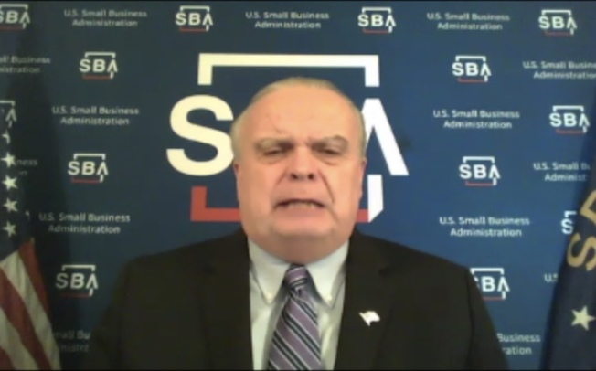 SBA大西洋區域業務經理(Atlantic Regional Administrator)Steve Bulger 。(記者謝雨珊/攝影)