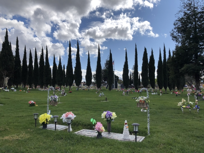 中半島聖馬刁百齡園、東灣海沃百恩園及屋崙百祥園推出首創的線上互動式虛擬葬禮服務。圖為海沃百恩園環境。(記者劉先進/攝影)
