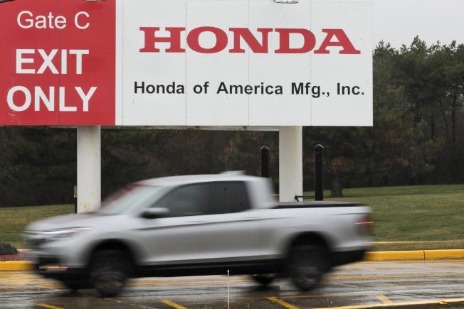 本田汽車(Honda Motor)已開始讓在美國的約1萬名員工放無薪假。美聯社