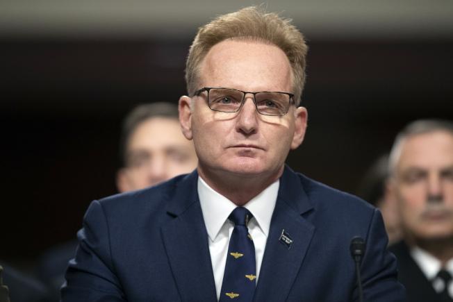原代理海軍部長莫德利因發言不當而辭職。(美聯社)
