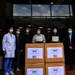 北美華人會計師協會10萬口罩贈醫護