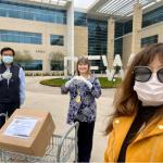 台商會會長陳文珊 捐達福機場口罩