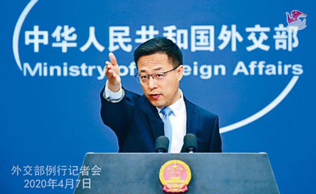 中國外交部發言人趙立堅。(取材自中國外交部官網)