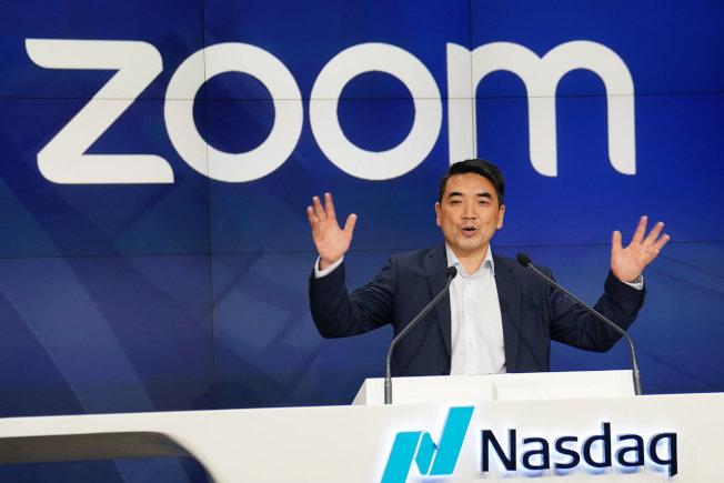 視訊會議平台Zoom創辦人袁征。 路透