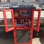 LIRR道格拉斯頓「圖書館」變「配餐室」 免費提供食物