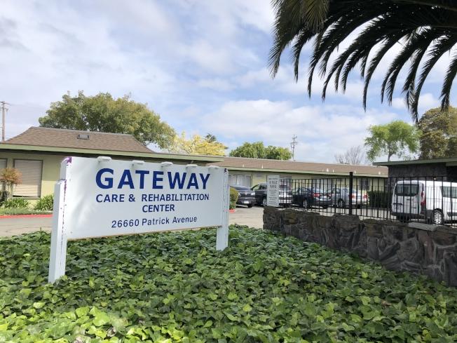 東灣海沃的 Gateway Care and Rehabilitation Center有6人致死,另外還有53人確診。(記者劉先進 /攝影)
