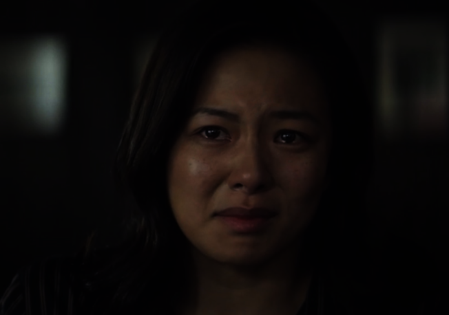 葛曉潔在Netflix上映的新片「虎尾」的劇照。(截圖自葛曉潔推特)