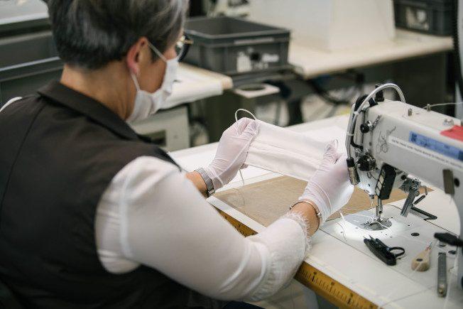 LV终于出手做口罩了!工坊动员300名工匠投入生产