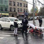 8大道突發車禍 1行人被撞送醫