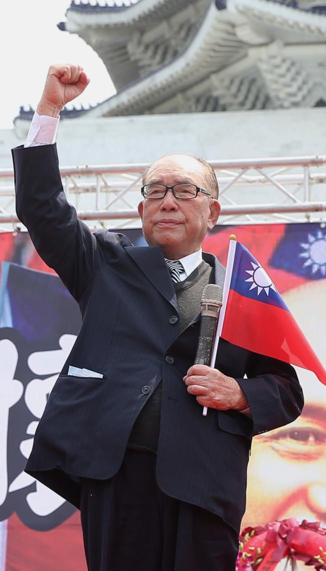 行政院前院長郝柏村3月30日辭世,享壽101歲。(本報資料照片)