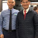 王文祥捐物資 助醫護抗疫